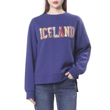 아이슬란드 자수맨투맨 (SF2TSF834)