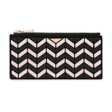 [사은품증정+선물포장][ROSELLA PRISM] 핑크 로젤라 장지갑