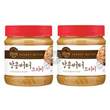 [복음자리] 땅콩버터 크리미 340g * 2병