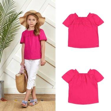 BT22TS05PKGB 여아 핑크 티셔츠