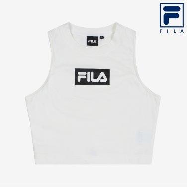 슬림핏모던 FILA 크롭탑 (FS2ITB1154F_OWH)