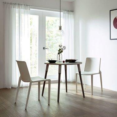 [일룸] 레마 800폭 원형테이블 식탁세트