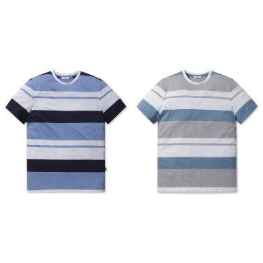 [올젠]컬러 블럭 티셔츠(ZOZ2TR1307 2종 택1)as