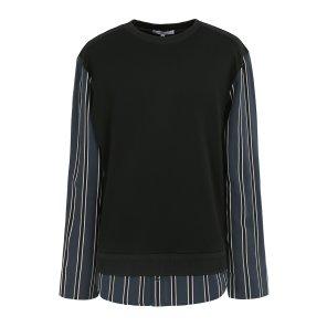 리버클래시MA 블랙몸판니트소매셔츠포인트니트 LGS41411MA