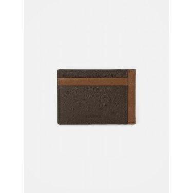 블럭 빈 낱장 카드지갑 - Brown (BE02A3M07D)
