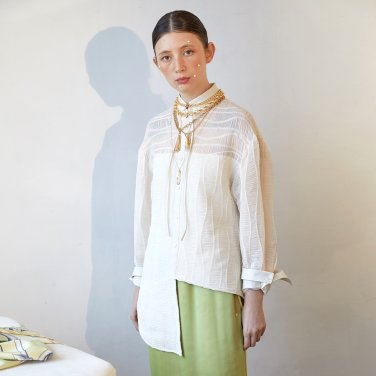 Pooler Lace Blouse_Ivory (JC19FWSH02I)