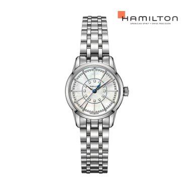 H40311191 레일로드 레이디 쿼츠 메탈 여성 시계