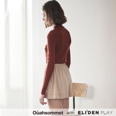 [우아솜메] Ouahsommet SOFT HALF NECK TOP [2 COLORS] (OBBTS002A)