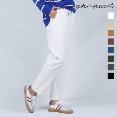 [세븐퍼센트] (BJ)포켓코듀로이 와이드 10부 밴딩팬츠