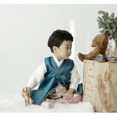 [살롱드샬롯]포근포근 겨울바다 남아한복