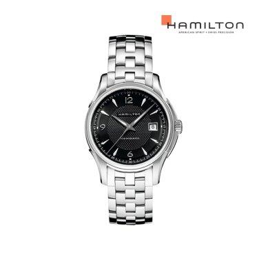 H32515135 재즈마스터 뷰매틱 40mm 블랙 메탈 남성 시계
