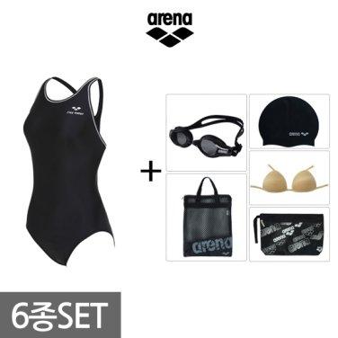 여성 원피스 수영복세트 AVSPL63BBF