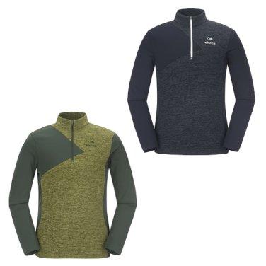 배색형 남성 짚업 티셔츠 Ⅱ / 등산티,긴팔 (DMF17213)