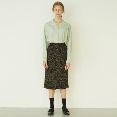 P Button Long Skirt_LP