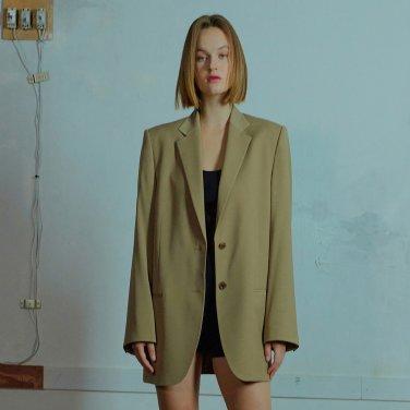 Overfit two button jacket 004 Beige