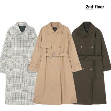 [세컨플로어] 지금 딱인 아이템&여리여리 봄 신상 PREVIEW ♥코트/원피스 外