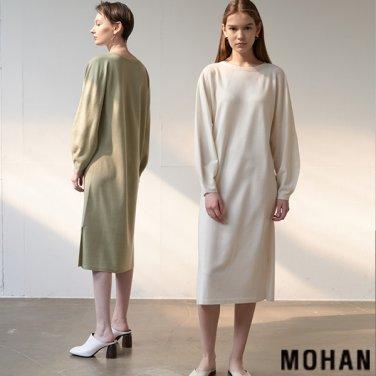 [모한] MOHAN TTS PUFF SLEEVE KNIT DRESS _ 3 COLOR (MHTTSKN005)