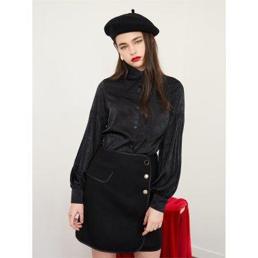 [에프코코로미즈] button P mini skirt