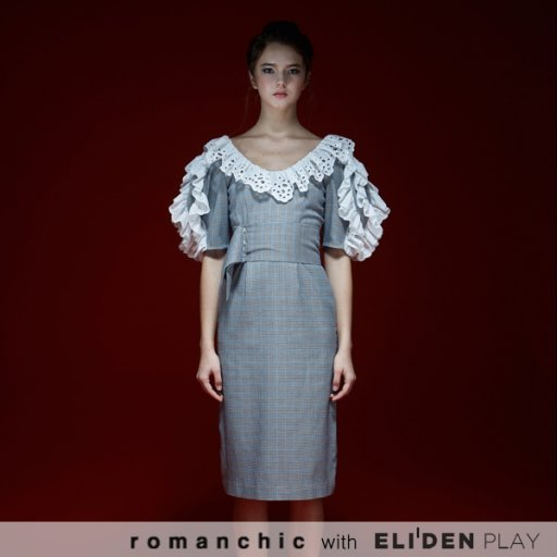 [로맨시크][홍진영,경리 착용] Romanchic Dress (RC19D302)