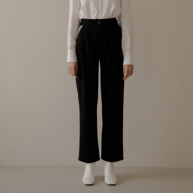 COLOR BLOCK PANTS_BLACK