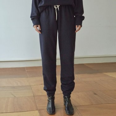 [DEANS] EASY SWEAT JOGGER PANTS_NAVY