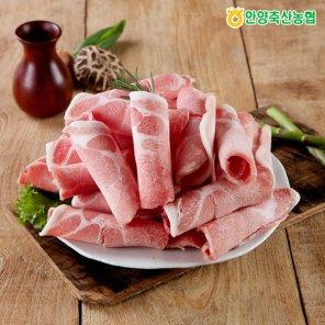 [안양축협]국산돼지 대패 냉동 목살 600g