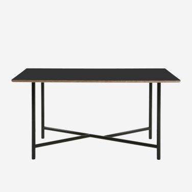 Lino wide cross leg Table 1600