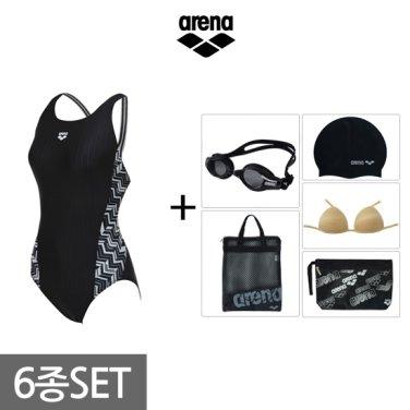 여성 원피스 수영복세트 AVSPL62BBF