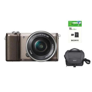 미러리스 카메라 알파 A5100 [ 티탄 / 본체 + 16-50mm]