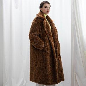 Eco Fur Maxi Coat_2019ver.S(2019WCT320_02)
