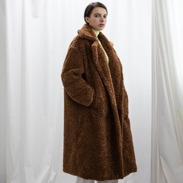 Eco Fur Maxi Coat_2019ver.S(2019WCT320_02)