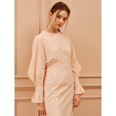 [까이에] Curved Sleeve Dress