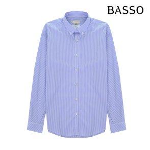 [바쏘] 블루 스트라이프 셔츠(BSR1TT05A)