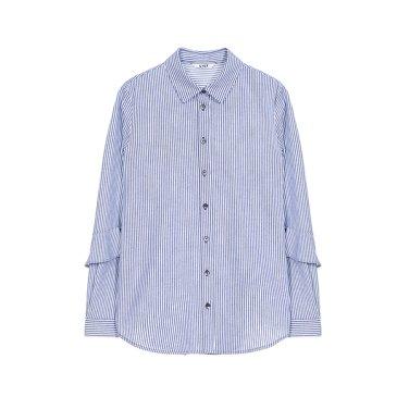 [리스트] 스트라이프 코튼 셔츠 TWWSTJ70140
