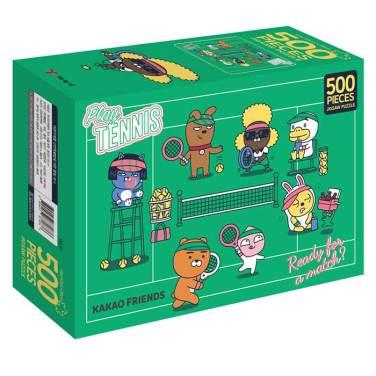 카카오프렌즈 직소퍼즐 500 플레이 테니스