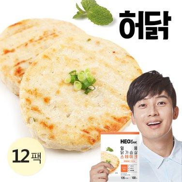 [특가] 일품 닭가슴살 스테이크 오리지날 100g 12팩