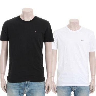 남성 플래그 로고 반팔 티셔츠 TJMT1KOE04D0