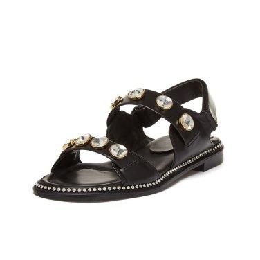 Cubic strap sandal(black) DG2AM19045BLK / 블랙