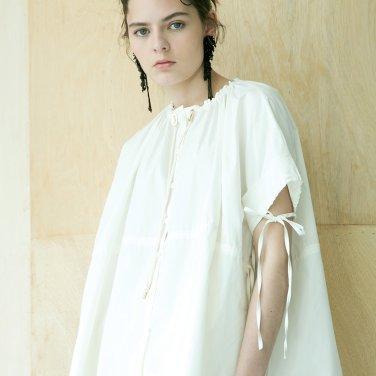 Rize Shirring Half Shirt [White] (JC19SM2RizeSHCCFR)