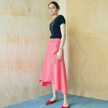 Lund Wave Wrap Skirt [Florida Pink] (JC19SMSK04FP)