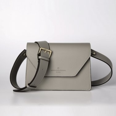 clover cross bag (lightgrey) - D1006LG