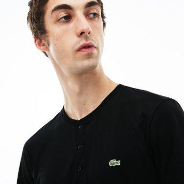 [엘롯데] 남성 헨리넥 반팔라운드 티셔츠 LCST TH0884-19BCCA