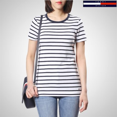 TFMT1KOE69A0(모달혼방 스트라이프 반소매 티셔츠)