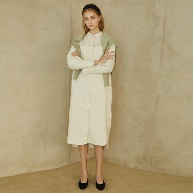 P Pocket Shirt Dress_IV