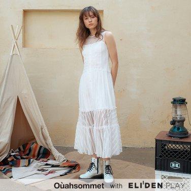 [우아솜메] Ouahsommet Multi Lace Dress_WH (OBFOP003A)