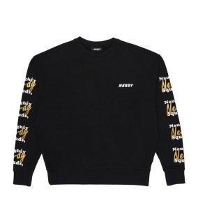 남녀공용 Glitter Print Sweatshirt (PNES19KT0405)