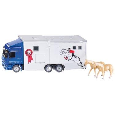 [시쿠] 말수송 트레일러 트럭