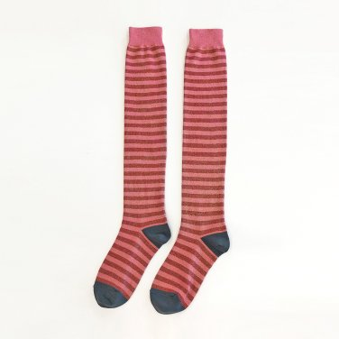 Glitter Pepe Thigh High_Pink-Red-Blue (JC20SSAC01PK)