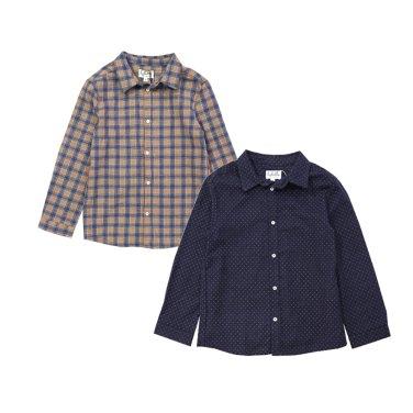 베이직 카라 셔츠(FG17SH01)