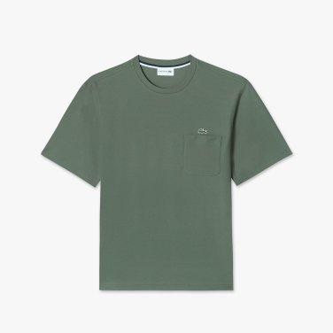 [엘롯데] 남성 포켓 라운드 반팔 티셔츠 LCST TH302E-19BXZD